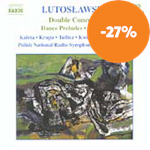 Produktbilde for Lutoslawski: Double Concerto for Oboe, Harp and Chamber Orchestra (CD)