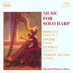 Music for Solo Harp (CD)