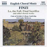 Finzi: Choral Works (CD)