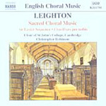 Leighton - Sacred Choral Music (CD)