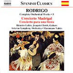 Rodrigo: Complete Orchestral Works, Vol 5 (CD)
