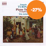 Produktbilde for Turina: Complete Piano Trios (CD)