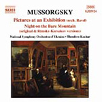Mussorgsky: Pictures at an Exhibition (CD)