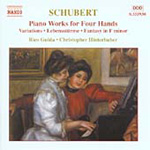 Schubert: Four Hand Piano Works (CD)