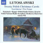 Lutoslawski: 20 Polish Christmas Carols (CD)