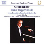 Schubert: Piano Transcriptions (CD)