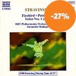 Produktbilde for Stravinsky: Firebird & Petrushka Suites 1 & 2 (CD)