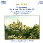 Dvorák: Symphonies 4 and 8 (CD)