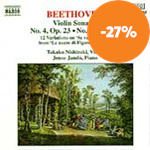 Produktbilde for Beethoven: Violin Sonatas Nos. 4 & 10; Mozart Variations (CD)