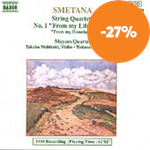 Produktbilde for Smetana: String Quartets, etc (CD)