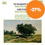 Produktbilde for Tchaikovsky/Arensky: Piano Trios (CD)
