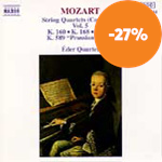 Mozart: String Quartets, Vol. 5 (CD)