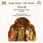 Tallis: Mass for four voices; Motets (CD)