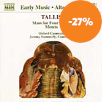 Produktbilde for Tallis: Mass for four voices; Motets (CD)