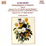 Schubert: String Quartets, Vol. 1 (CD)