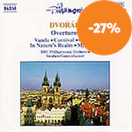 Produktbilde for Dvorák: Overtures (CD)