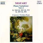 Mozart: Piano Variations, Vol. 2 (CD)