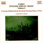 Early English Organ Music, Volume 1 (CD)
