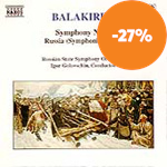 Produktbilde for Balakirev: Symphony No 2; Russia (CD)