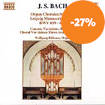 Produktbilde for Bach: Organ Chorales from the Leipzig Manuscript, Volume 2 (CD)
