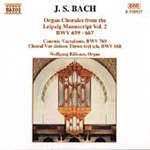 Bach: Organ Chorales from the Leipzig Manuscript, Volume 2 (CD)