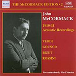 John McCormack Edition, Vol. 2: The Acoustic Recordings 1910-1911 (CD)