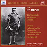 Caruso - Complete Recordings, Volume 1 (CD)
