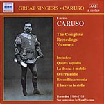Caruso - Complete Recordings, Vol. 4 (CD)