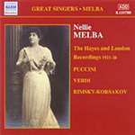 Nellie Melba - The Hayes and London Recordings (1921-26) (CD)