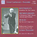 Toscanini conducts Beethoven, Dukas & Mendelssohn (CD)