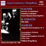 Mahler; Strauss; Wagner: Orchestral Works (CD)
