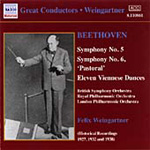 Beethoven: Symphony No 5 and 6 (CD)