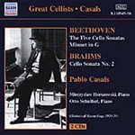 Beethoven: Cello Sonatas Nos 1-5; Minuet in G; Brahms: Cello Sonata No 2 (CD)