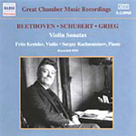 Beethoven; Grieg; Schubert: Chamber Works (CD)