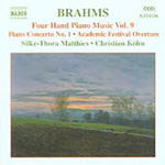 Brahms: Piano Works for Four Hands, Vol 9 (CD)