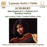 Schubert: Music for Violin and Piano (CD)