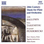 20th Century Music for Flute and Orchestra (CD)