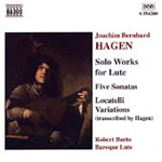 Hagen: Solo Works for Lute (CD)