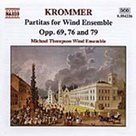 Krommer: Partitas for Wind Ensemble, Vol. 3 (CD)