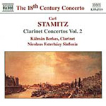 Stamitz: Clarinet Concertos, Vol 2 (CD)