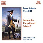 Soler: Harpsichord Sonatas, Vol 5 (CD)