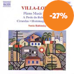 Villa-Lobos: Piano Works, Vol 4 (CD)