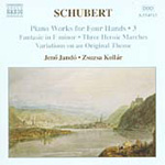 Schubert: Piano Works for Four Hands (CD)
