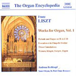 Liszt: Organ Works, Volume 1 (CD)