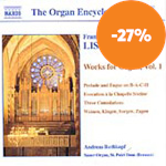 Produktbilde for Liszt: Organ Works, Volume 1 (CD)