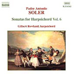 Soler: Harpsichord Works, Volume 6 (CD)