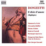 Donizetti: L'elisir d'amore (Highlights) (CD)