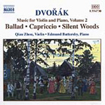 Dvorák: Piano and Violin Music, Vol 2 (CD)