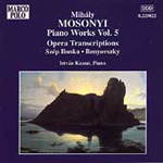 Mosonyi: Piano Works, Volume 5 (CD)