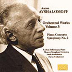 Avshalomoff: Orchestral Works, Vol 3 (CD)